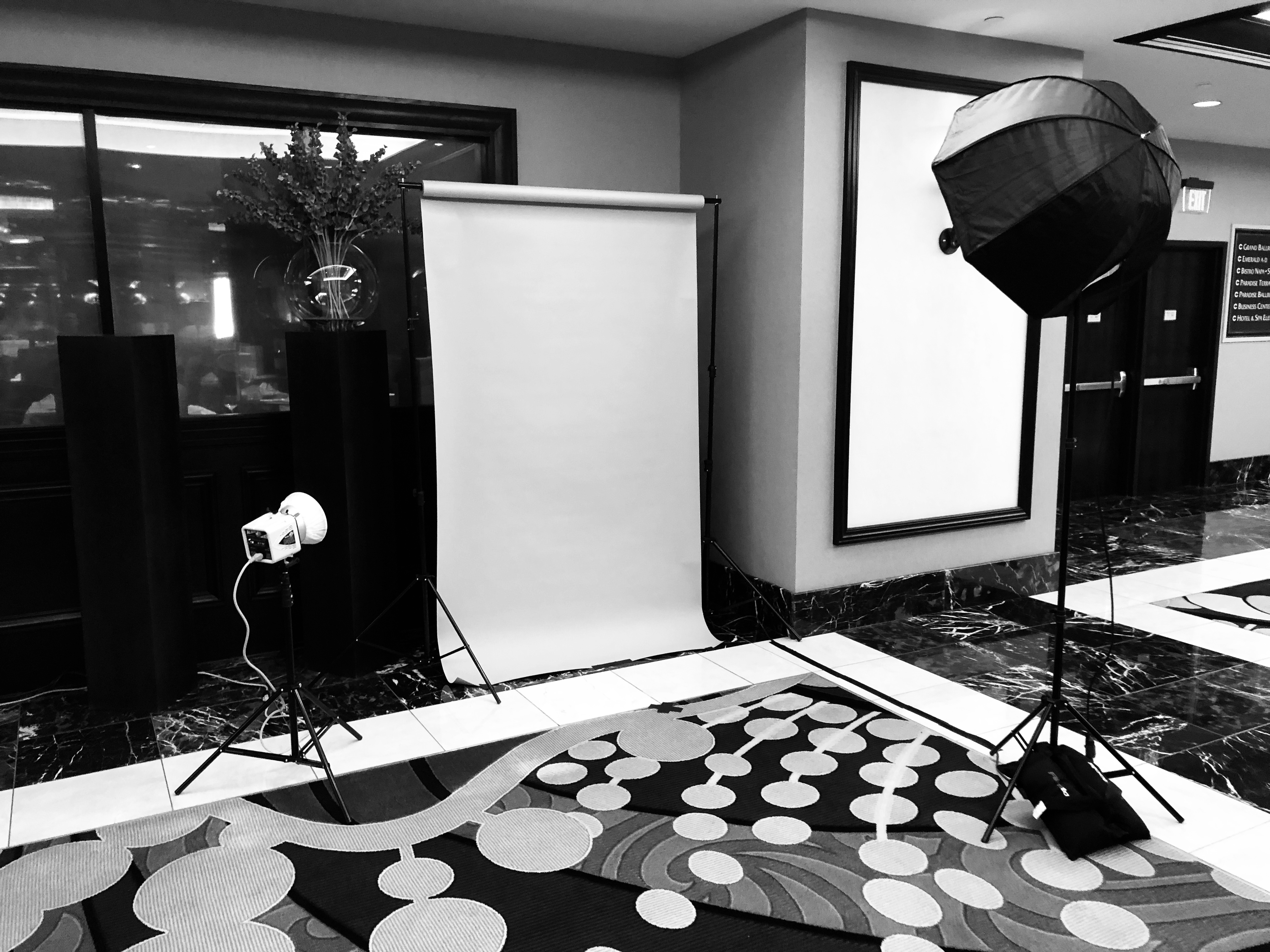 headshot booth rental for corporate events