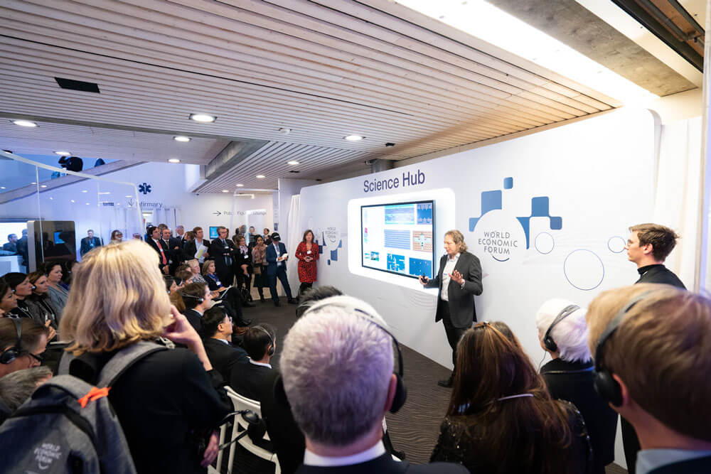 digital presentations for sustainable events