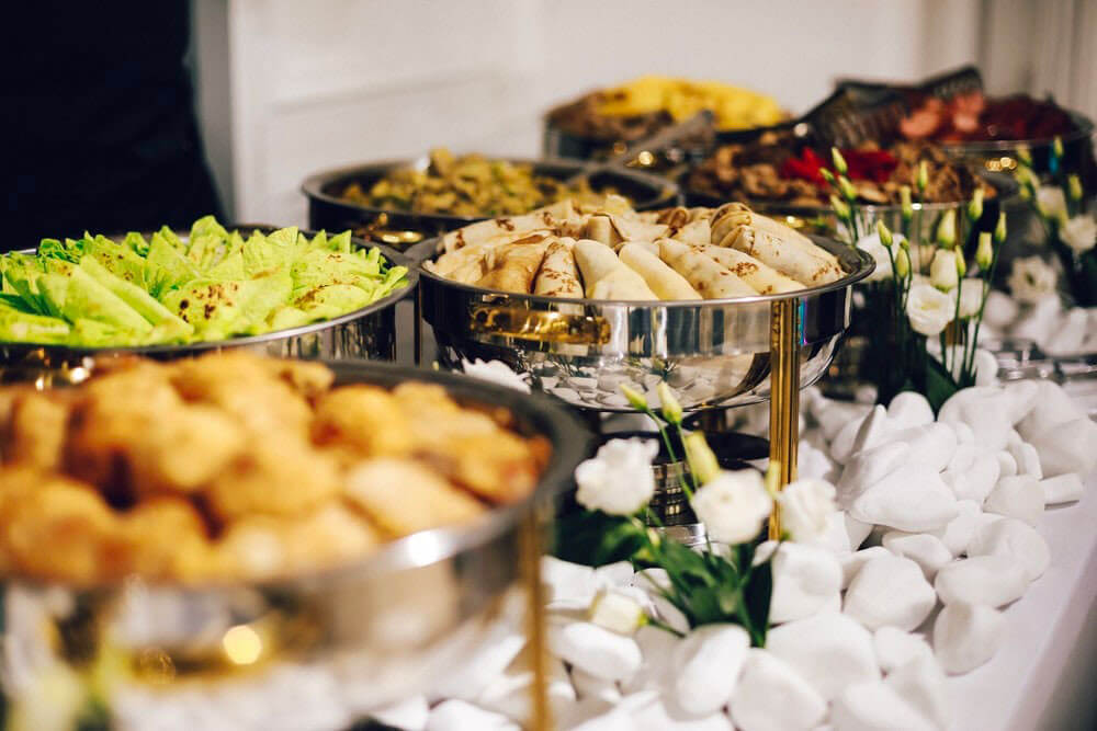 sustainable event catering options