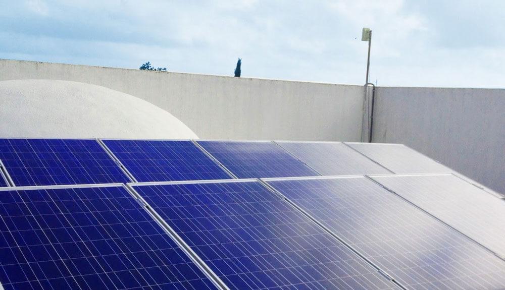 solar powered event venue