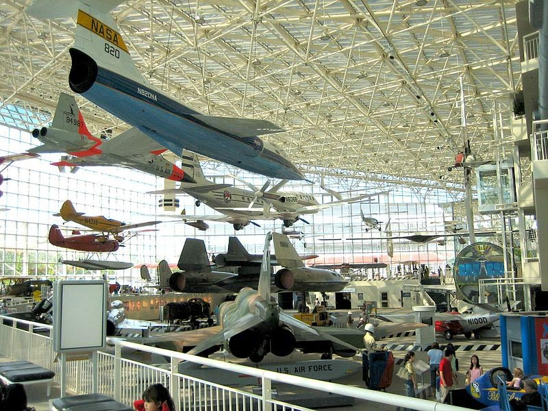 exhibit at the museum of flight in seattle