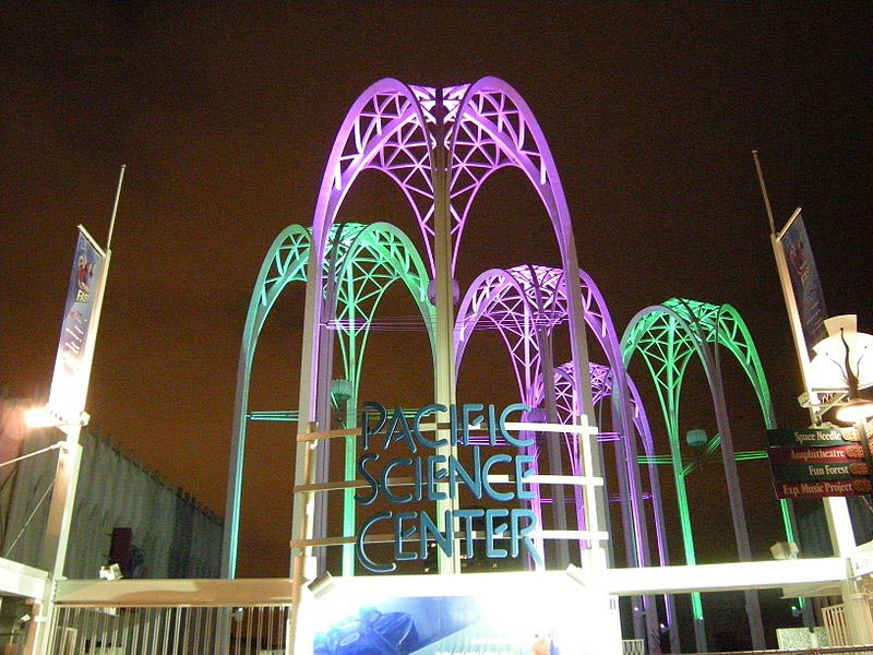 pacific science center light show