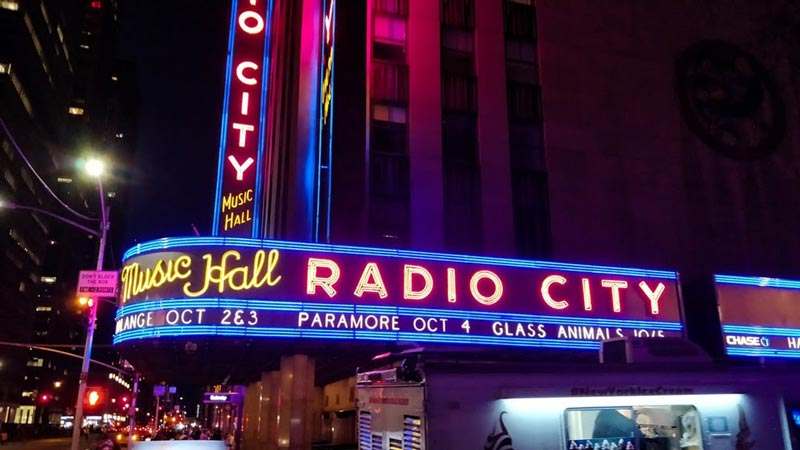 radio city music hall for corporate events in new york